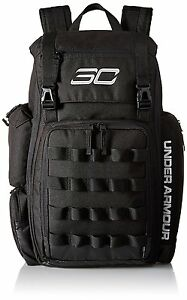 Under Armour Mens SC30 Backpack One Size Fits All Black