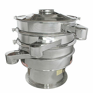 XZS-600 Rotary Sifter for separate different size from one lot + 1 layer