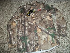 UNDER ARMOUR New NWT Mens MEDIUM Dress Shirt Button Up Realtree Camo Camouflage