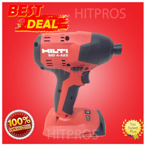HILTI SID 4 A22 CORDLESS IMPACT DRILL DRIVER, NEW MODEL, 2 BATTERIES, FAST SHIP