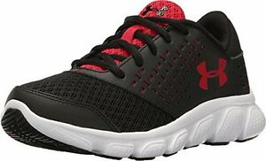 Under Armour Boys UA BPS Rave RN Black WhiteRed 1