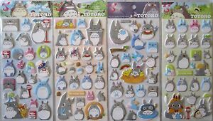 Shanle My Neighbor Totoro Puffy Sticker Sheet (Your Choice of Design)~KAWAII!!