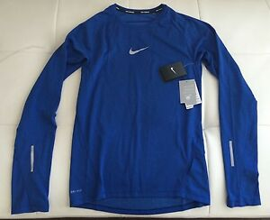 NWT - $100 Nike Running Dry Fit LS Shirt (Size - Small)