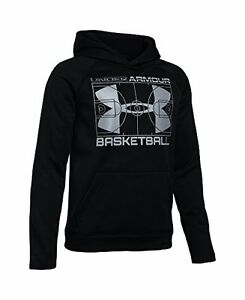 Under Armour Boys' Storm Fleece Baketball Hoodie - Choose SZColor