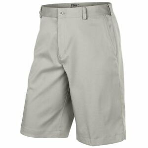 Men's Nike Golf Dri-Fit Flat Front Tech Shorts NEW Light Bone (551808-072)  $65