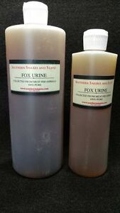 RED FOX URINE 100% PURE PROFESSIONAL QUALITY TRAPPING FOX COYOTE LURE BOBCAT