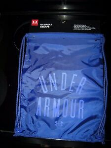 Brand New Girls Blue & Purple Under Armour Gym Bag Sackpack