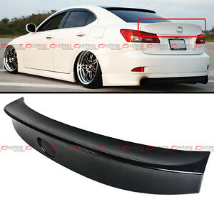 FOR 2006-13 LEXUS IS250 IS350 ISF WA STYLE JDM DUCK BILL REAR TRUNK SPOILER WING
