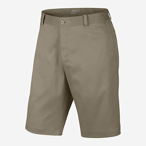 Men's Nike Golf Dri-Fit Flat Front Tech Shorts NEW (551808-235)  $65