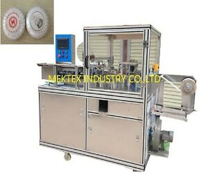 Automatic Pleated Round SoapUrinal Block Cake Pleated Packing Wrapping Machine