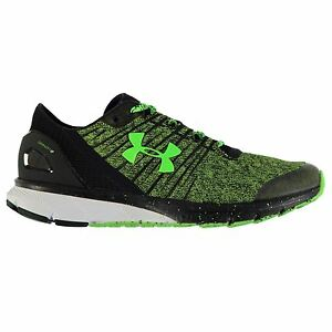 Under Armour Charged Bandit 2 Running Shoes Mens GrnBlk Sport Trainers Sneakers