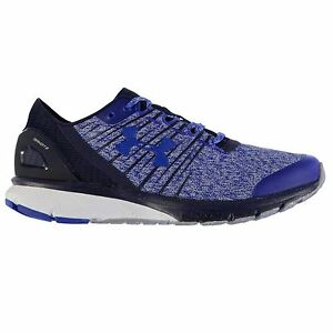 Under Armour Charged Bandit 2 Running Shoes Mens BlueNvy Trainers Sneakers