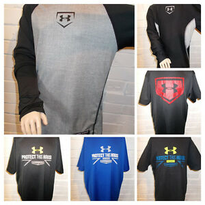 Boy's Under Armour Baseball Logo Shirts-Athletic-Casual-Click Size for FULL LIST