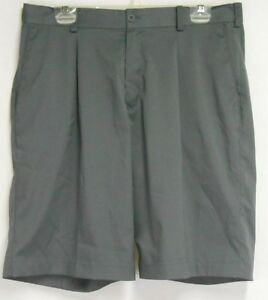 Nike Golf Mens sz 33 Gray Dri Fit Polyester Golf Shorts