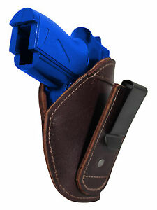 New Barsony Burgundy Leather Tuckable IWB Holster Mini Pocket 22 25 380 Pistols $32.99