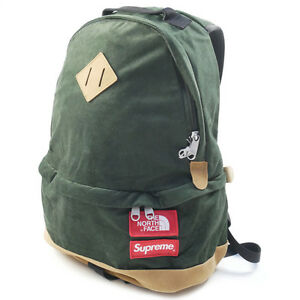 SUPREME  THE NORTH FACE 12 AW Medium Day Pack Backpack Backpack GREEN