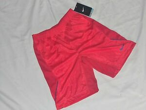NEW- NIKE Boys Dry-Fit Athletic Short Red Sz 6M (5-6 years)