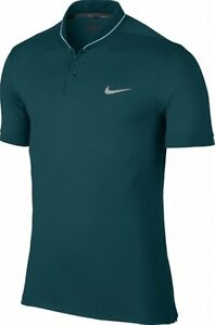 Nike Men's Golf Modern Fit TR Dry Heather Polo Shirt 725555-346 Green New S