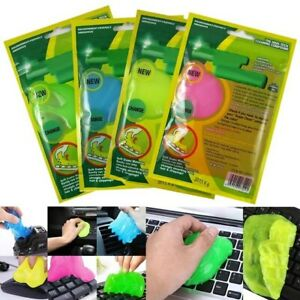 Super Cleaning Magic Computer Keyboard Cleaner Gel Car PC Dust Remove 3pks