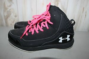 Under Armour Youth 4.5 Y Girl's Basketball Shoes High Top Sneakers