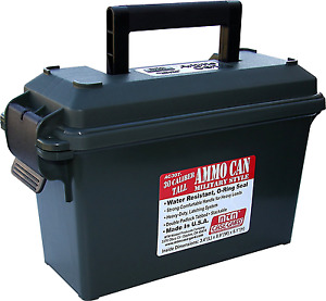 MTM AC30T-11- 30 Caliber Tall Ammo Can (Forest Green) Ammo Boxed Bulked Storage