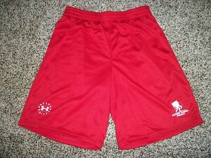 UNDER ARMOUR Wounded Warrior Project New NWT Mens Shorts Gym Red Large 2XL XXL