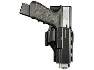 Uncle Mike's Reflex Competition Holster Glock 17 19 22 23 Polymer Black 74217
