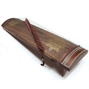 Gayageum Korean zither with 25 strings traditional musical instrument jade