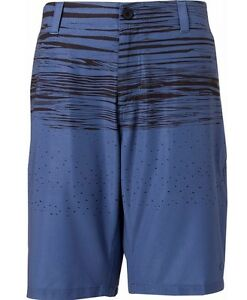 Oakley Men's OHydrolix Wave Patterned Flat Front Golf Shorts - NWT