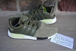 Adidas NMD Green Glow Suede Size 11 1 of 1 Samples