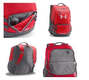 RedGraphite Under Armour Storm Hustle Backpack Soft laptop holds One Size NEW