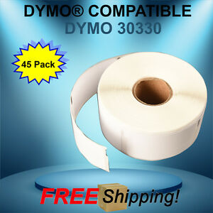 Address Internet Postage 45 Rolls 30330 Dymo® Duo Compatible Thermal 500 Labels