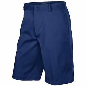 Men's Nike Golf Dri-Fit Flat Front Tech Shorts NEW Blue (551808-419)  $65