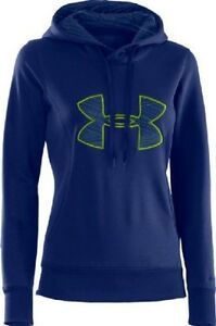 Under Armour - Under Armour Womens Hoody - AF Storm Big Logo - Blue - X-Small