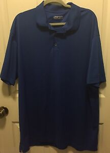 MENS NIKE GOLF FIT DRY POLO GOLF SHIRT SIZE 3XL XXXL Blue