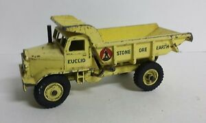 DINKY SUPERTOYS Meccano England #965 'EUCLID' Operating DUMP TRUCK TIPPER 1955