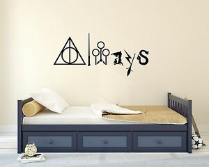 Harry Potter Always Lettering Quote Magic Wall Decal Art Mural Vinyl Sticker