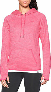 Under Armour STORM FLEECE TWIST HOODIE PINK Women's Size Small Sweatshirt NWT