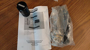 Moroso 85639 Air Oil Separator Tank Kit Catch Can PCV Ford Mustang V6 2011 up
