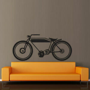 Wall Decal Sticker Vinyl Bike Tour Driving Old Moto Room Nursery M451
