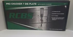 RCBS Pro-Chucker 7 Die Plate Quick Change Powder Measure and Linkage Kit 88913