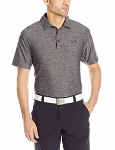 Under Armour Golf CLOSEOUT Men's Playoff Polo (Carbon Heather) 3XL