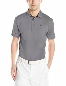 Under Armour Golf CLOSEOUT Men's Playoff Polo- Graphite