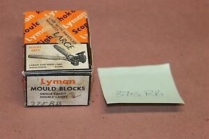 Lyman 375RB Reloading Double Cavity Bullet Mold .375 Round Ball IN Original Box