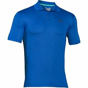 Under Armour Golf CLOSEOUT Men's Performance Polo (Ultra Blue)