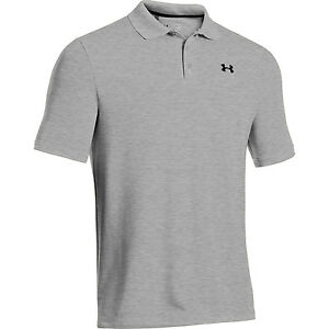 Under Armour Golf CLOSEOUT Men's Performance Polo True Gray Heather 025 Small