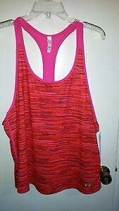 Under Armour Womens Loose Pink Tank Top New XL