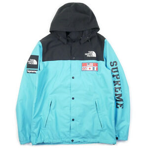 SUPREME  THE NORTH FACE 14 SS Expedition Coaches Jacket BLUE L