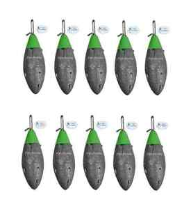 Breakaway Tackle NEW Plain Impact Lead Weights 200g - Pack of 10