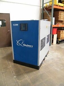 Quincy QED 2100 cycling refrigerated dryer atlas copco ingersoll rand sullair